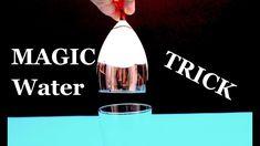 How to make Magic Water Trick!