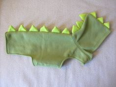 Dinosaur Hoodie Small by SproutandSprout on Etsy Dino dog sweater!