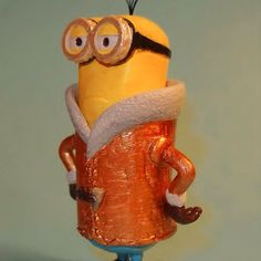 The #Minion #Kevin can be now #3dprinted. Here you can download the #3dprintable model http://ift.tt/1VatAln #3DPrinting 3Dprinting #3dpr by threedingdotcom