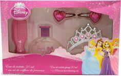 Disney Getting Ready Rose Gift Set 50ml EDT + Tiara Comb + Hair Slides