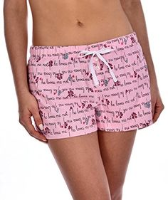 GaryM Women's Printed Flannel Pajama Shorts He Loves Me Daisy Small. Decorative buttons on shorts add a delightful touch. Elastic waistband ensures a comfortable and secure fit. Perfect as lounge and sleep wear. Available in a variety of fun prints to complement your unique personality and style. Wash before wear to soften fabric.