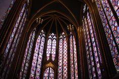 Verdaderas obras de arte en forma de vidrieras. Imprescindible en cualquier visita a París: Saint Chapelle. Única.