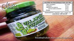 Jalapeños aptos Dukan Mercadona.  No añaden azúcar
