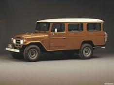 Toyota Land Cruiser 47 Hard Тop (HJ47) '1979–84 ~ Retro Cars