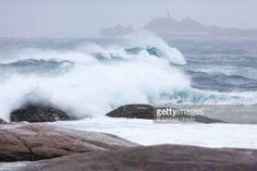 10-22 Rough sea at fishing village of Muxia, A Coruna,…... #muxia: 10-22 Rough sea at fishing village of Muxia, A Coruna,…… #muxia
