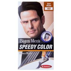 Bigen Men's Speedy Colour Dark Brown 103