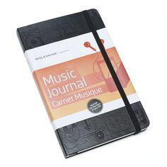 Moleskine Music Journal (5 x 8.25) | Vickerey.