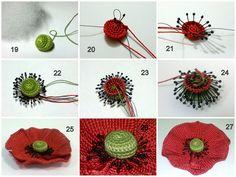 For instructions, click here:    http://ergahandmade.blogspot.gr/2015/06/crochet-stitches.html   Via...