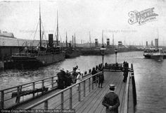 Belfast, The Quays c.1910, from Francis Frith