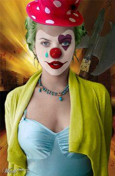 Evil Celebrity Clowns - Worth1000 Contests.  Scowler                                                                                                                                                                                 Plus