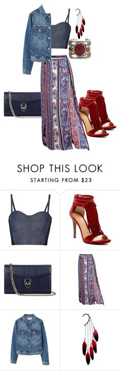 """""""Red it out"""" by paulina-213 ❤ liked on Polyvore featuring Rebecca Minkoff, Chinese Laundry, Aspinal of London, MANGO and Anni Jürgenson"""