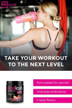 Enhance your workout experience with a better tasting pre-workout. Try all 4 tasty flavors of IdealLean Pre-Workout _ Pineapple Mango, Blue Raspberry, Watermelon Ice and Cherry Limeade. Each scoop is packed with ingredients that maximize both mental and physical aspects of training, so you can unlock your full potential.