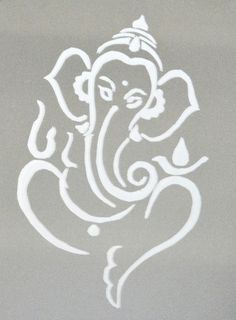large Ganesh stencil - Google Search