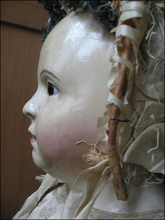 antique doll, Pauline, made of Voit 1840-1860,  Sammlung_: Lommel