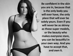 Loving your body, ideal body, body positive, curvy quotes, you' Body Love, Loving Your Body, Ideal Body, Love Your Body Quotes, Monday Motivation, Fitness Motivation, Curvy Quotes, Plus Zise, Body Confidence