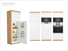ECO kitchen at Sims by Severinka