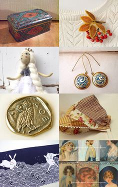 Curious Fall Dreams... by Mammabook on Etsy--Pinned with TreasuryPin.com