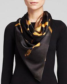 Weston Paesina Stone Silk Scarf | Bloomingdale's