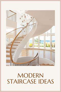 Modern Staircase Ideas | Grand Interior #modern #staircase #stair #ideas