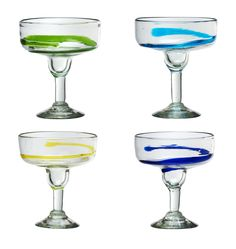 Features:  -Matertial: Glass.  - La Jolla collection.  -Set include 4 glasses…