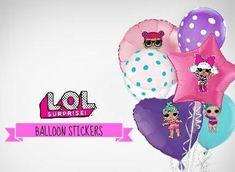 L.O.L Surprise Dolls Character Balloon Premium Stickers
