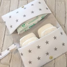 Star nappy clutch bags available to order in several colours. Perfect for mums on the go.
