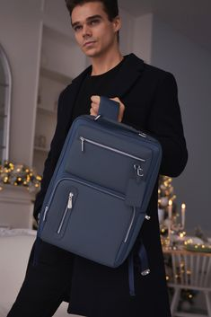 Shop Now✨ Cool Backpacks For Men, Teen Backpacks, Leather Backpacks, School Backpacks, Briefcase For Men, Leather Briefcase, Leather Bags, Backpack For Teens, Backpack Bags