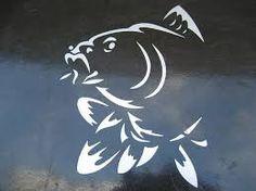 Znalezione obrazy dla zapytania logo karpia naklejka