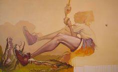 Polish street art. Sainer from Etam Cru