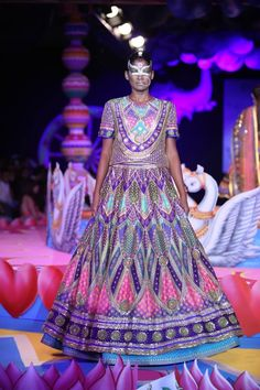 Manish Arora at Delhi Couture Week 2013.