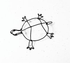 Turtle Wire Sculpture by WiredbyBud on Etsy