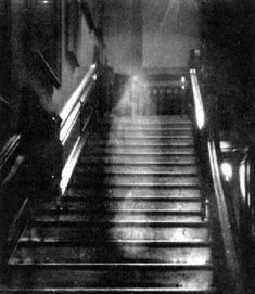 """The Brown Lady"" One of the most famous ghost pictures ever. Taken in 1936 at Raynham Hall Mansion in Norfolk England. This was BEFORE CGI. You decide."