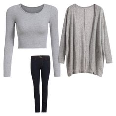 """Untitled #43"" by mkcorniel on Polyvore featuring J Brand"