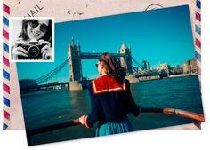 Finalmente... #Londra. Il mio sogno che si avvera! Come prima cosa, vado in cerca della mia #BookBench ... poi devo assolutamente trovare una giacca come la sua!! ^.^ #ilviaggiodiSara #londonstyle #relax