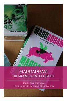 En parlant de virus... Cette 3e partie d'une saga sur une pandémie qui a effacé une bonne partie des humains de la planète est vraiment hilarante... ou bien serait-ce alarmante ? Lisez mon avis sur MaddAddam de Margaret Atwood en cliquant sur l'image ! #margaretatwood #postapo #pandemie #sf #livre #litterature #chroniquelitteraire