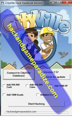 CityVille Hack Cheat Bot Tool (FACEBOOK)- Unlimited Cash,Coins,Energy,XP and Goods