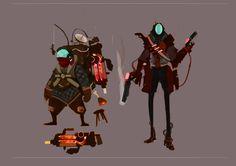 ArtStation - Space Bandit , Sam Stott