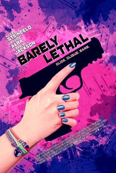 Barely Lethal Movie Poster  Typically girl wants to be normal, meets the popular guy, realizes the underdog is the one for her type of story. Has some funny parts. I personally think it's a bad movie for such a good group of actors.