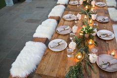 Autumn Entertaining: A Rosemary-Inspired Dinner - The Decor - Rip & Tan
