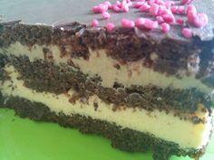Kulinarna (nie)codzienność: Tort makowy z masą budyniową
