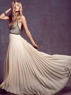 belle of the ball maxi dress - free people