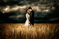 """""""Courage"""" - Each and every day you risk getting caught in 'the storm on the horizon', but you find courage in weathering any storm when you are with the one you #love... #Wedding #Photography by www.DominoArts.com"""