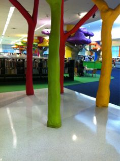 Memphis public library, children's section **