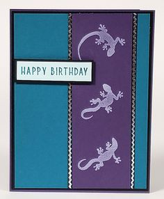 Birthday Cards, Happy Birthday, Simply Stamps, Silver Pen, Rubber Stamping, Black Paper, Black Glitter, Craft Stick Crafts