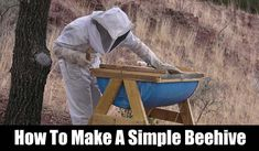 How To Make A Simple Beehive - This simple beehive is easy to build and best of all, cheap to build. In fact, if you have the barrels laying around this project will cost you next to nothing. If you haven't got any barrels check on Craigslist as someone may be giving them away.
