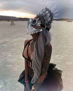 Look Festival, Festival Wear, Festival Outfits, Festival Fashion, Crazy Costumes, Halloween Costumes, Burning Man Art, Burning Man Fashion, Festival Costumes
