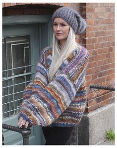 Crochet Cardigan, Knit Crochet, Mohair Sweater, Cardigan Pattern, Facon, Crochet Clothes, Knitwear, Knitting, Sweaters