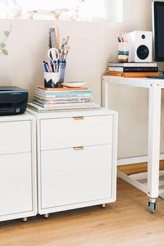 Blu Dot filing cabinets