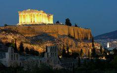 Акрополь и Парфенон