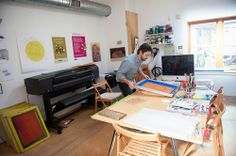 Nathan's Bright Print Studio